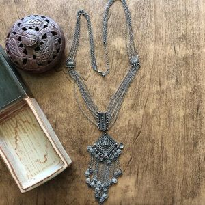 Boho Free People style necklace